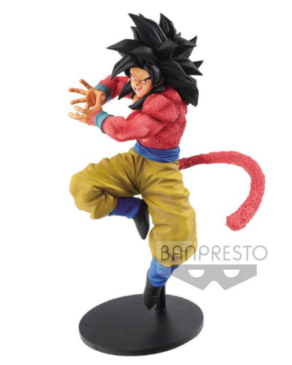 Dragon Ball GT Son Goku Figure X10 Kamehameha