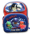 Backpack - PJ Masks - 12 Inch Small - Kids - 3D