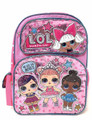Backpack - LOL Surprise - 16 Inch - Pink