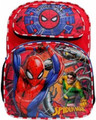 Backpack - Spiderman - 16 Inch Large Fullsize - Blue - Boys - 3D