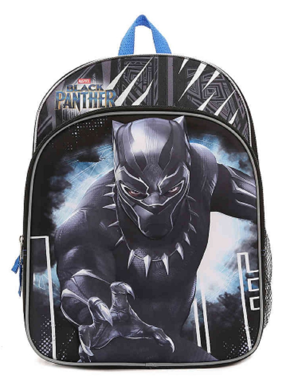 Backpack - Black Panther - Large 16 Inch - 3D - Cordura