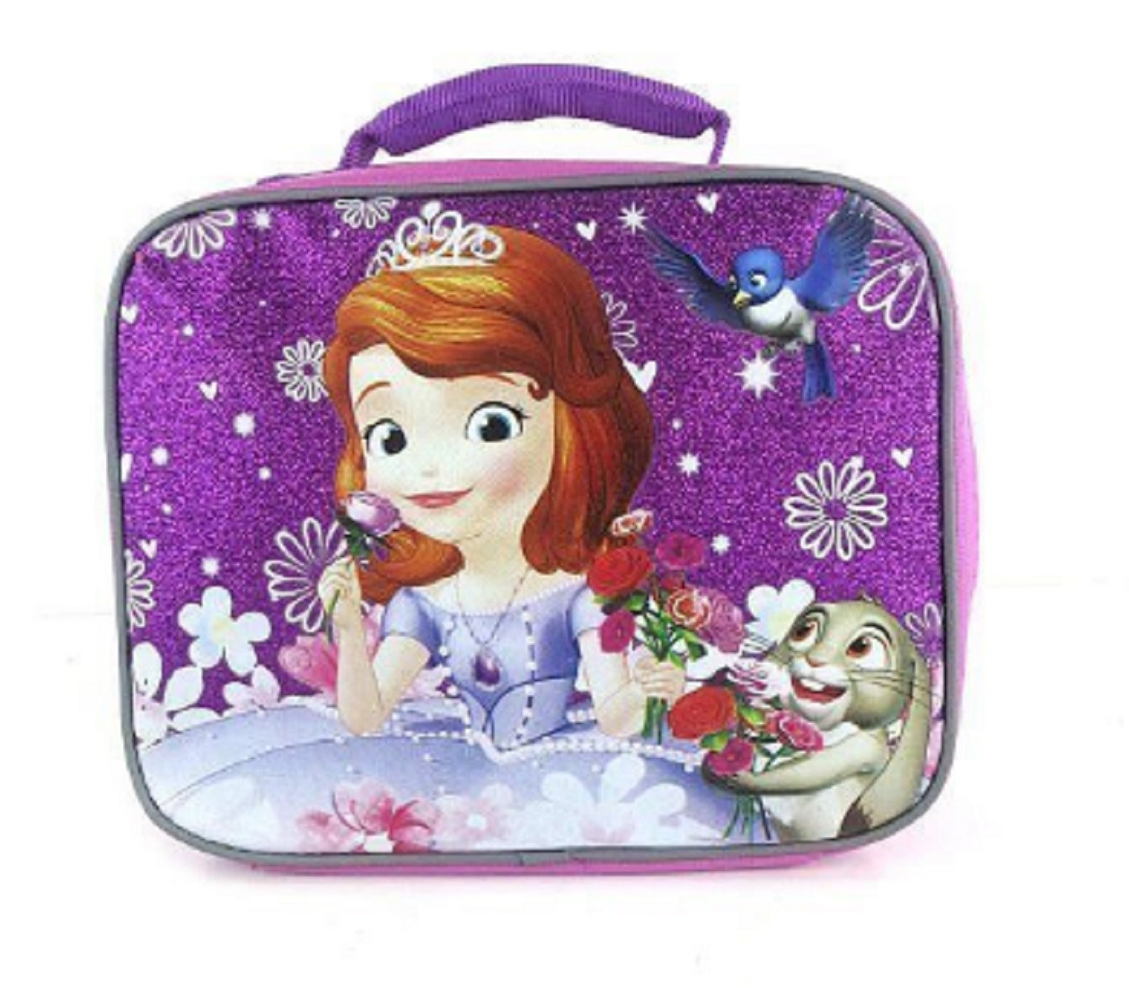 Lunch Box - Sofia the First - Insulated - Purple