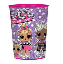 LOL Surprise - 16oz Plastic Cup - 8ct - Party Favors