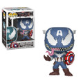 Funko POP - Marvel Venom - Venom Captain America - Vinyl Collectible Figure