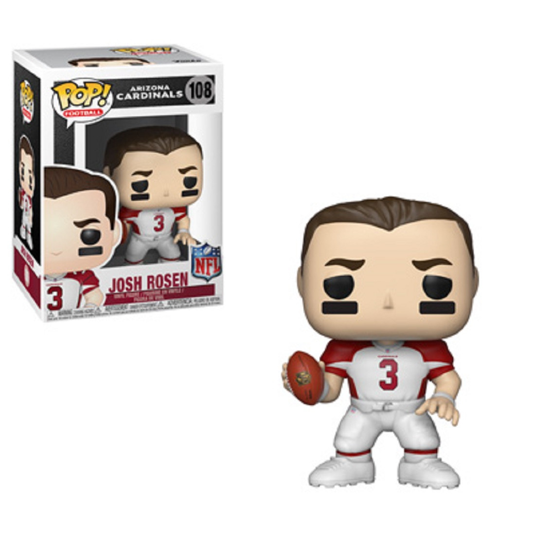 Funko POP - NFL - Draft - Josh Rosen - Vinyl Collectible Figure