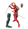 Action Figure Toy - Deadpool Marvel Legends - Lady Deadpool - 6 Inch - Wave 2