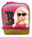 Lunch Box - Barbie - Insulated - Double Compartment