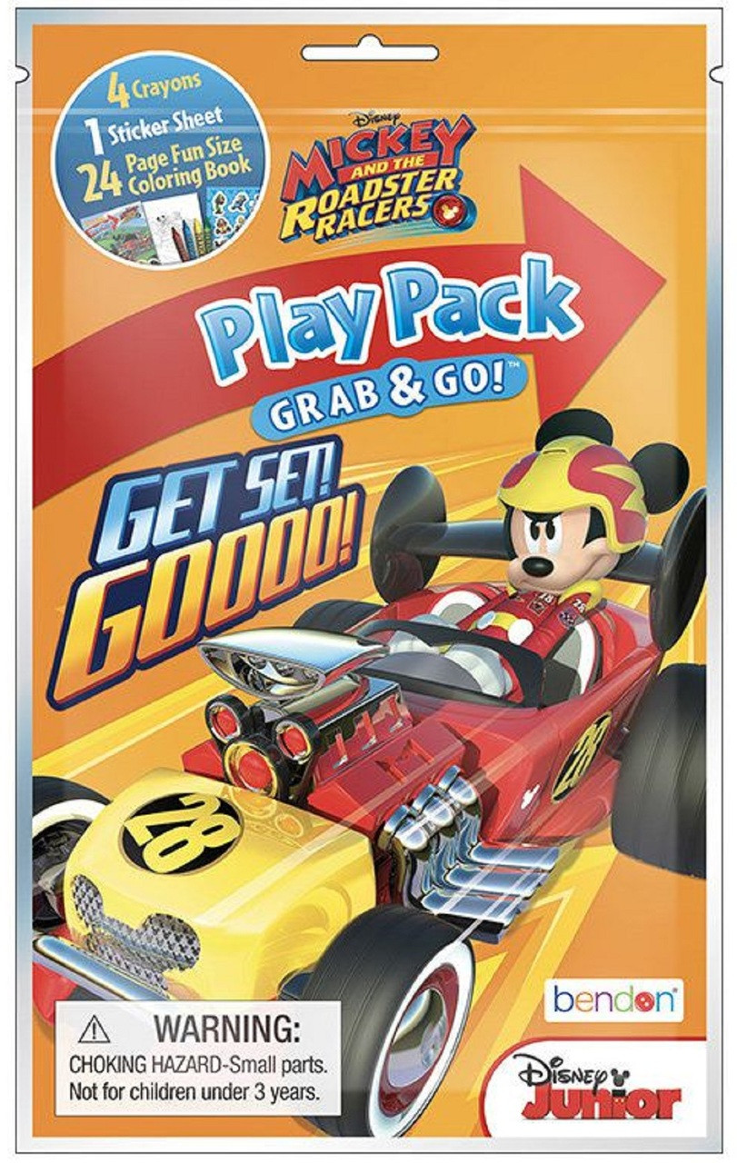 Party Favors - Mickey Mouse Roadster - Grab and Go Play Pack - 1PC
