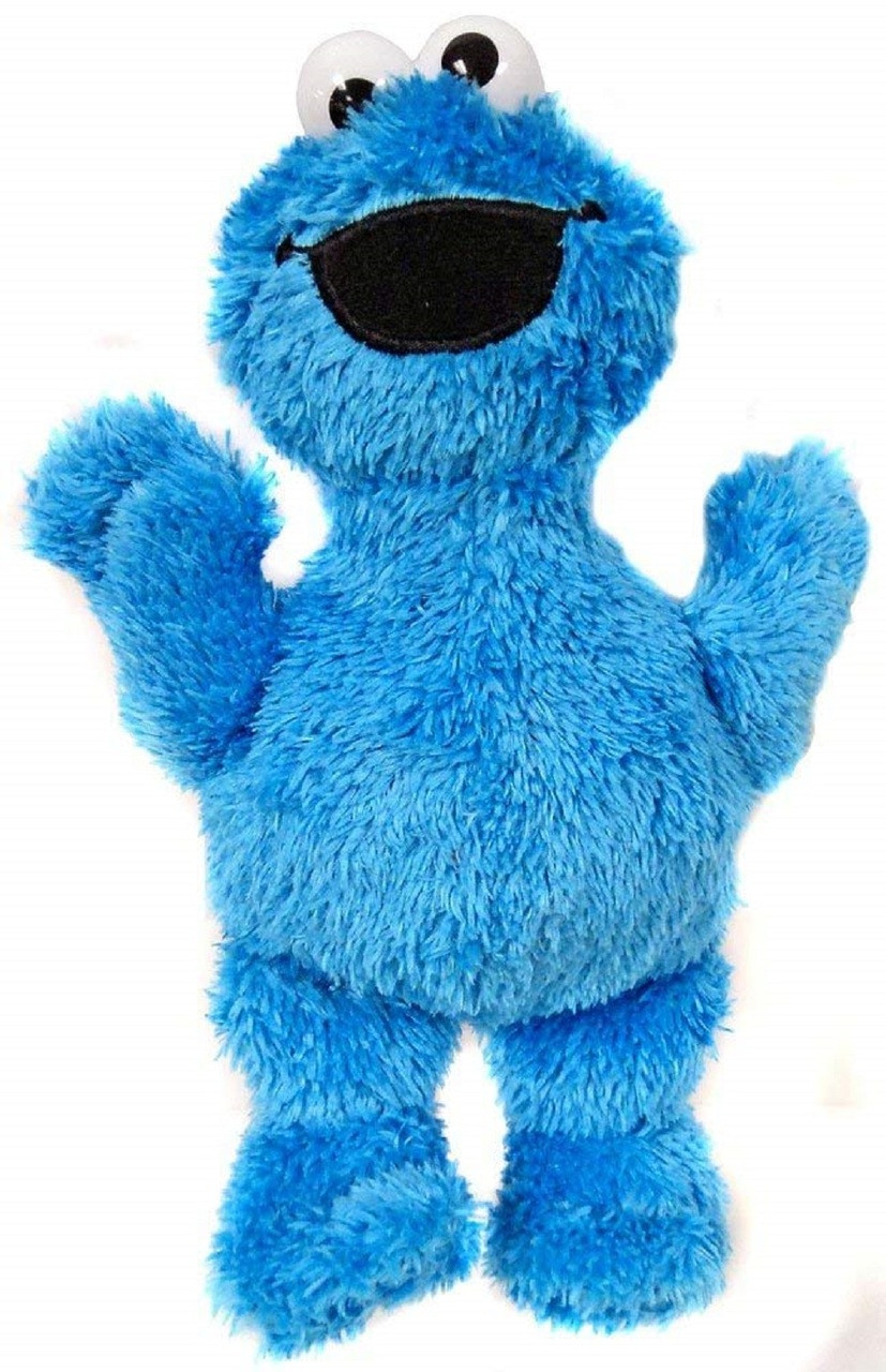 Plush Toy - Cookie Monster - Micro 8 Inch
