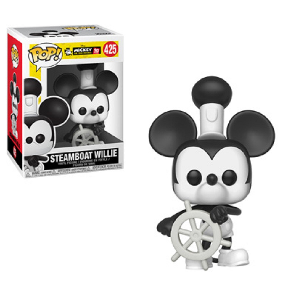 Funko POP - Mickey Mouse 90th - Steamboat Willie - Vinyl Collectible Figure