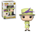 Funko POP - Royal Family - Queen Elizabeth II - W2 - Green - Vinyl Collectible Figure