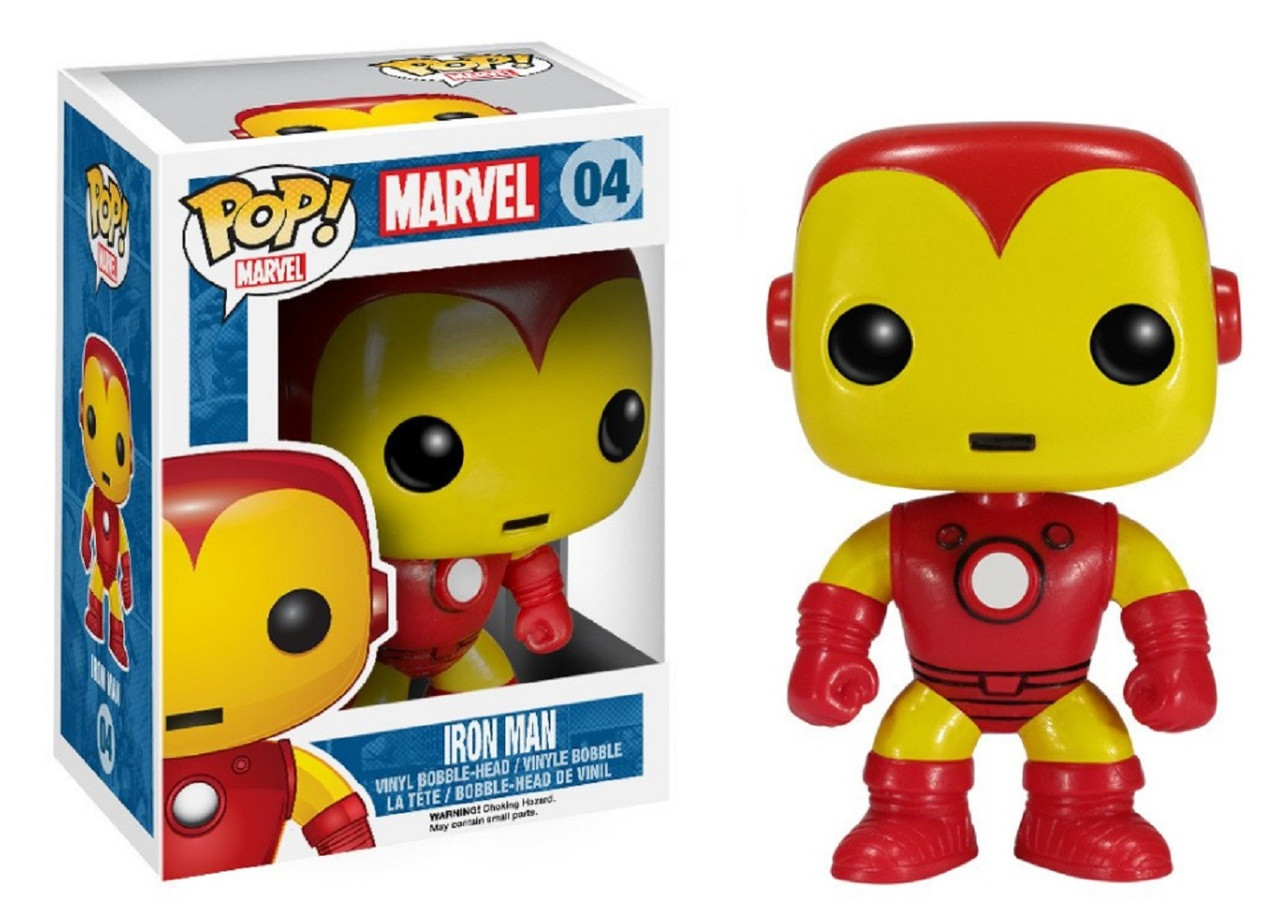 Funko POP - Marvel - Iron Man - Vinyl Collectible Figure