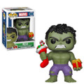 Funko POP - Marvel Holiday - Hulk - Vinyl Collectible Figure - w Stocking and Plush