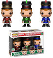 Funko POP - Freddy Funko - Nutcracker 3 Pack - Vinyl Collectible Figures