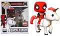 Funko POP - Marvel - Deadpool on Unicorn - Vinyl Collectible Figure