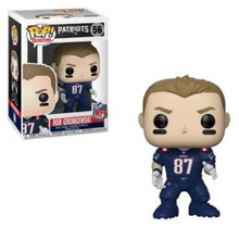 Funko POP - NFL - Patriots - Rob Gronkowski - Color Rush - Vinyl Collectible Figure