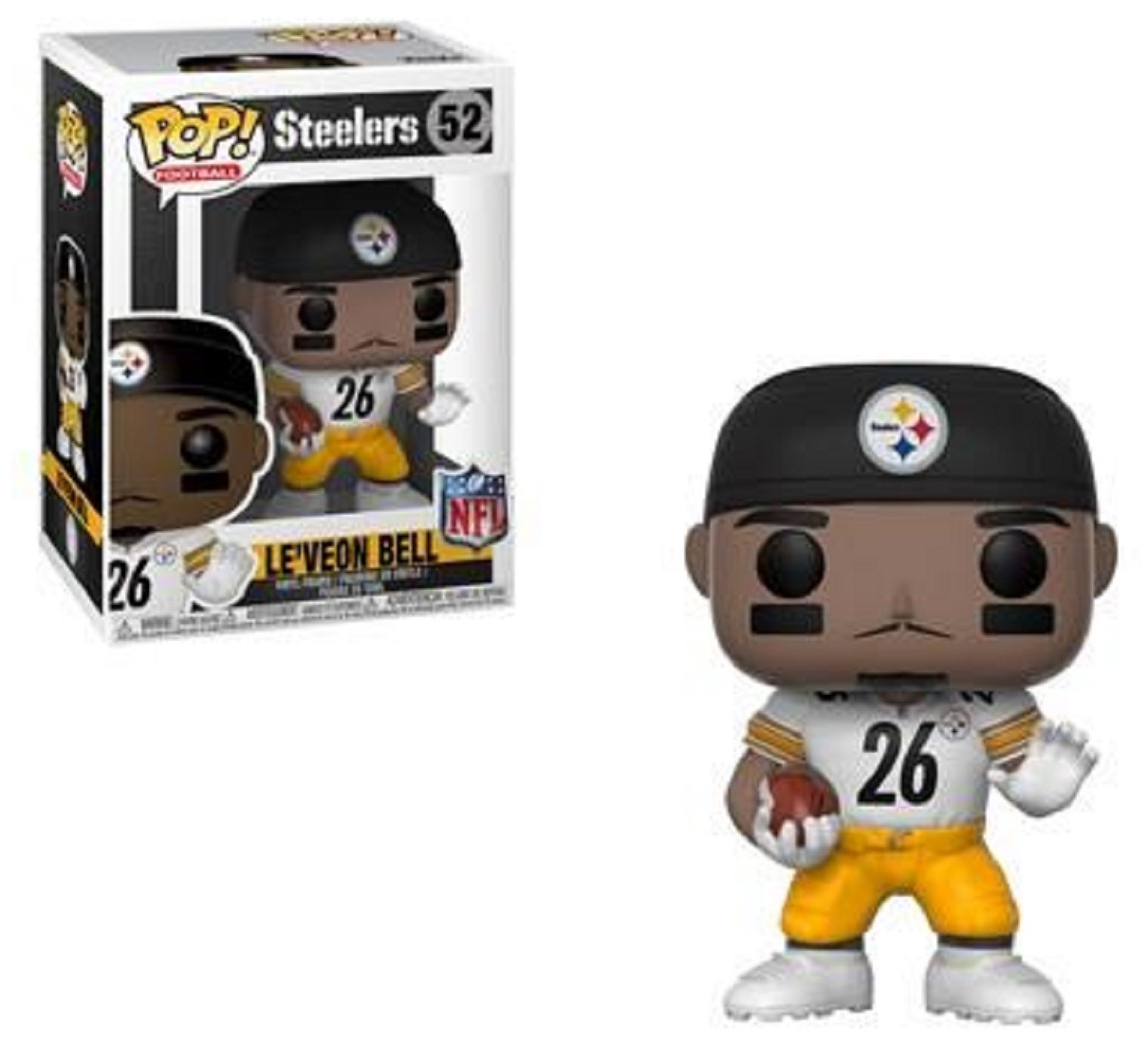 Funko POP - NFL - Steelers - Le'Veon Bell - Vinyl Collectible Figure - 2018