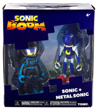 Action Figure Toys - Sonic Boom - Sonic and Metal Sonic - 3 Inch - Plastic