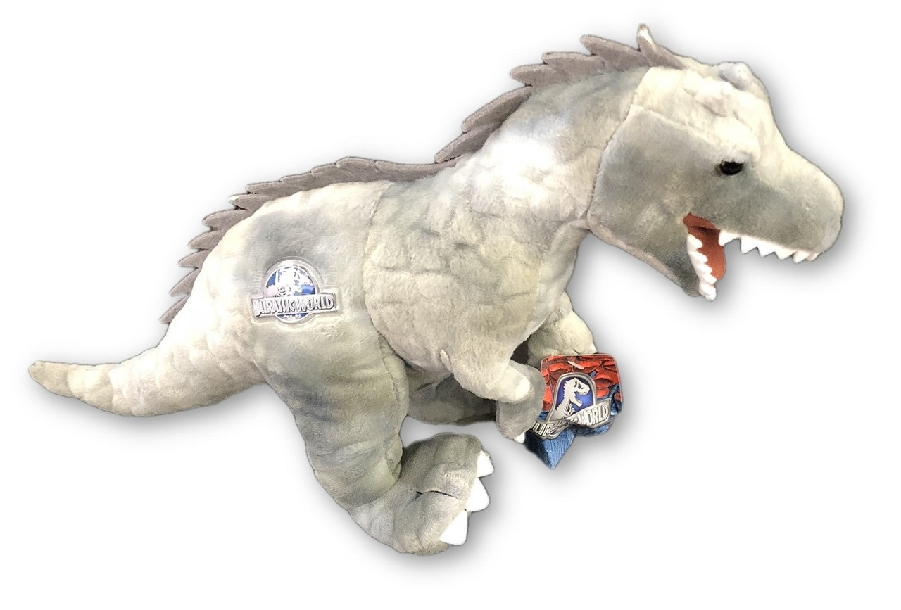 Plush Toy - Jurassic World - Indominus Rex - 11 Inch - Grey