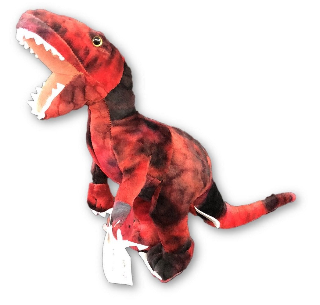 Plush Toy - Jurassic World - Raptor - 11 Inch - Red