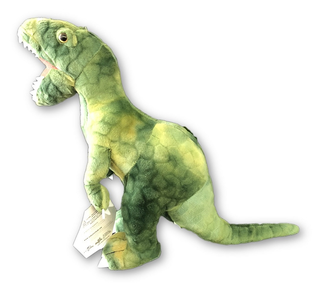 Plush Toy - Jurassic World - Raptor - 11 Inch - Green