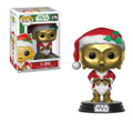 Funko POP - Star Wars - Holiday - C 3PO as Santa - Vinyl Collectible Figure