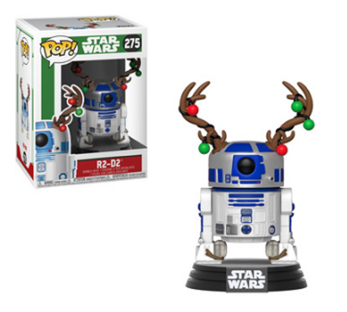 Funko POP - Star Wars - Holiday - R2D2 w Antlers - Vinyl Collectible Figure