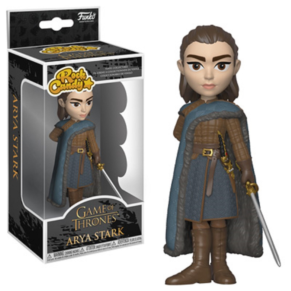 Funko Rock Candy - Arya Stark - Game of Thrones S9 - Vinyl Collectible Figure