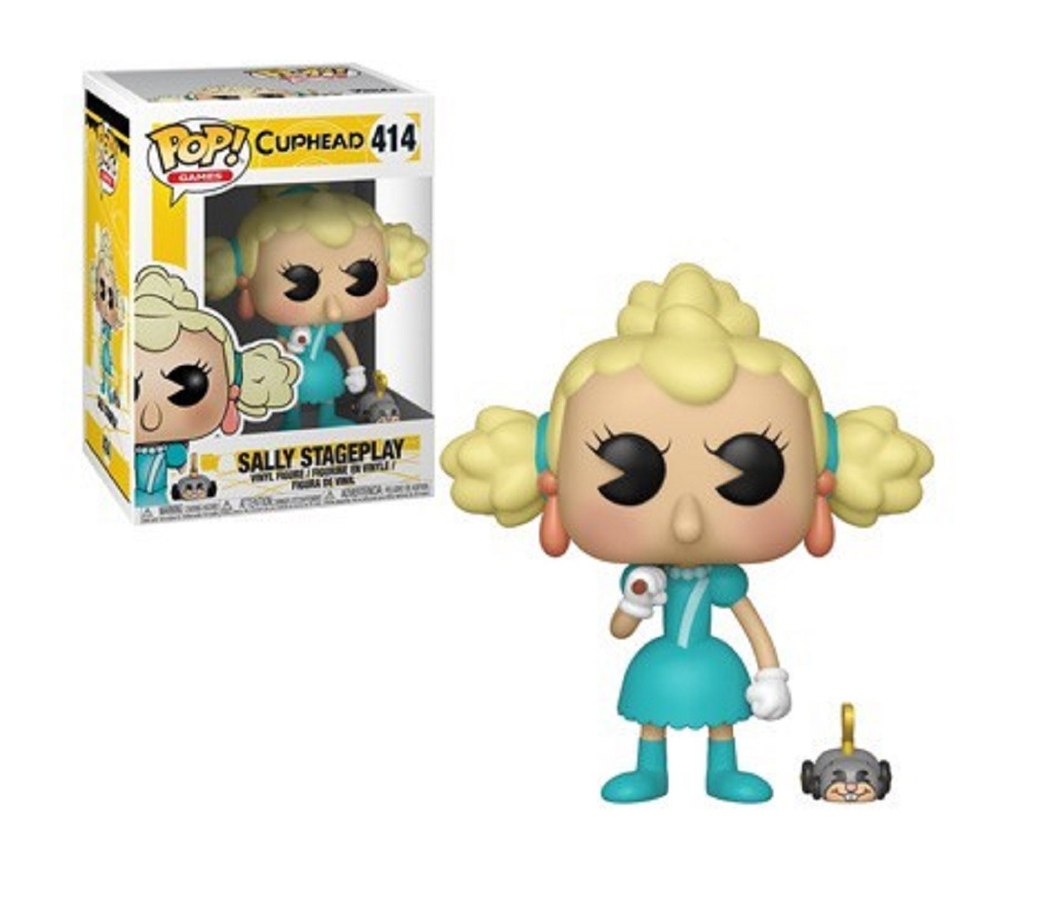 Funko POP - Sally Stageplay - Cuphead S2 - Vinyl Collectible Figure