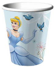 Cups - Cinderella - 9oz Paper - 8ct - Dreamland