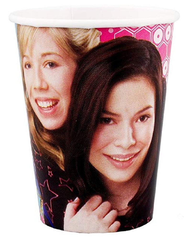 Cups - iCarly - 9oz Paper - 8ct