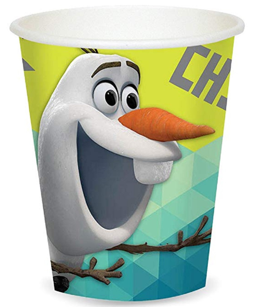 Cups - Olaf - 9oz Paper - 8ct