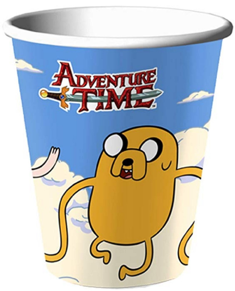 Cups - Adventure Time - 9oz Paper - 8ct