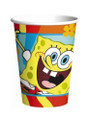 Cups - Spongebob - 9oz Paper - 8ct