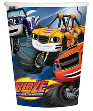 Cups - Blaze and the Monster Machines - 9oz Paper - 8ct