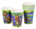 Cups - Ninja Turtles - 9oz Paper - 8ct