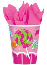Cups - Sweet Shop - 9oz Paper - 8ct
