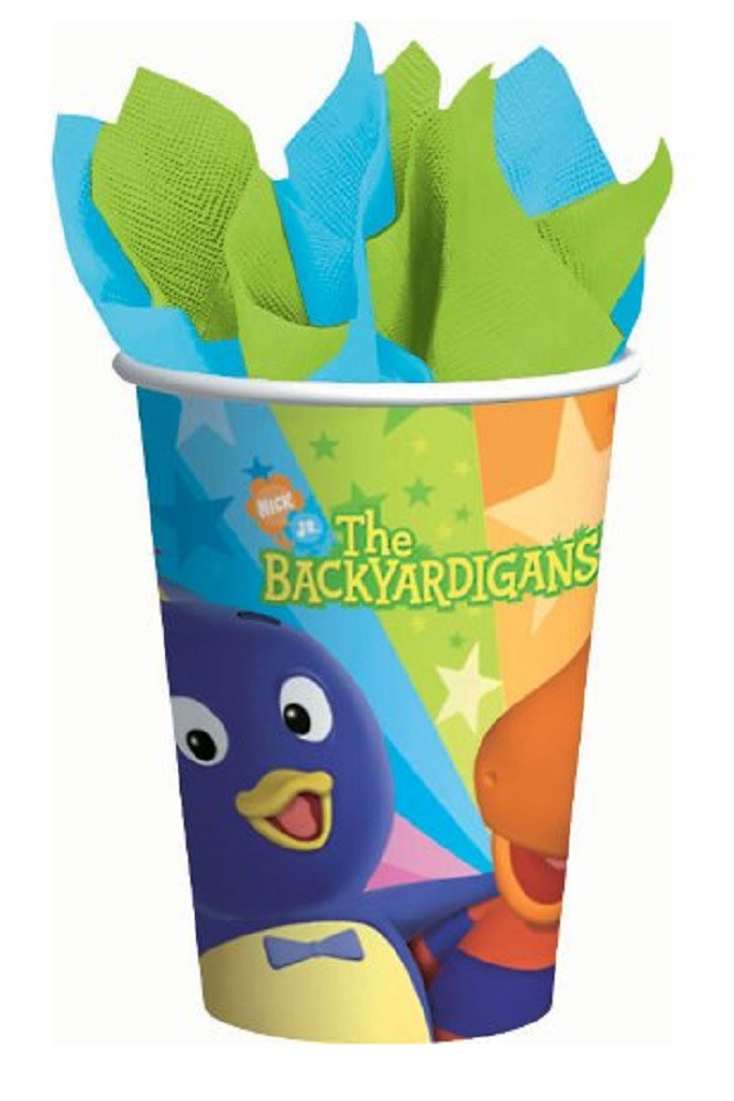 Cups - Backyardigans - 9oz Paper - 8ct