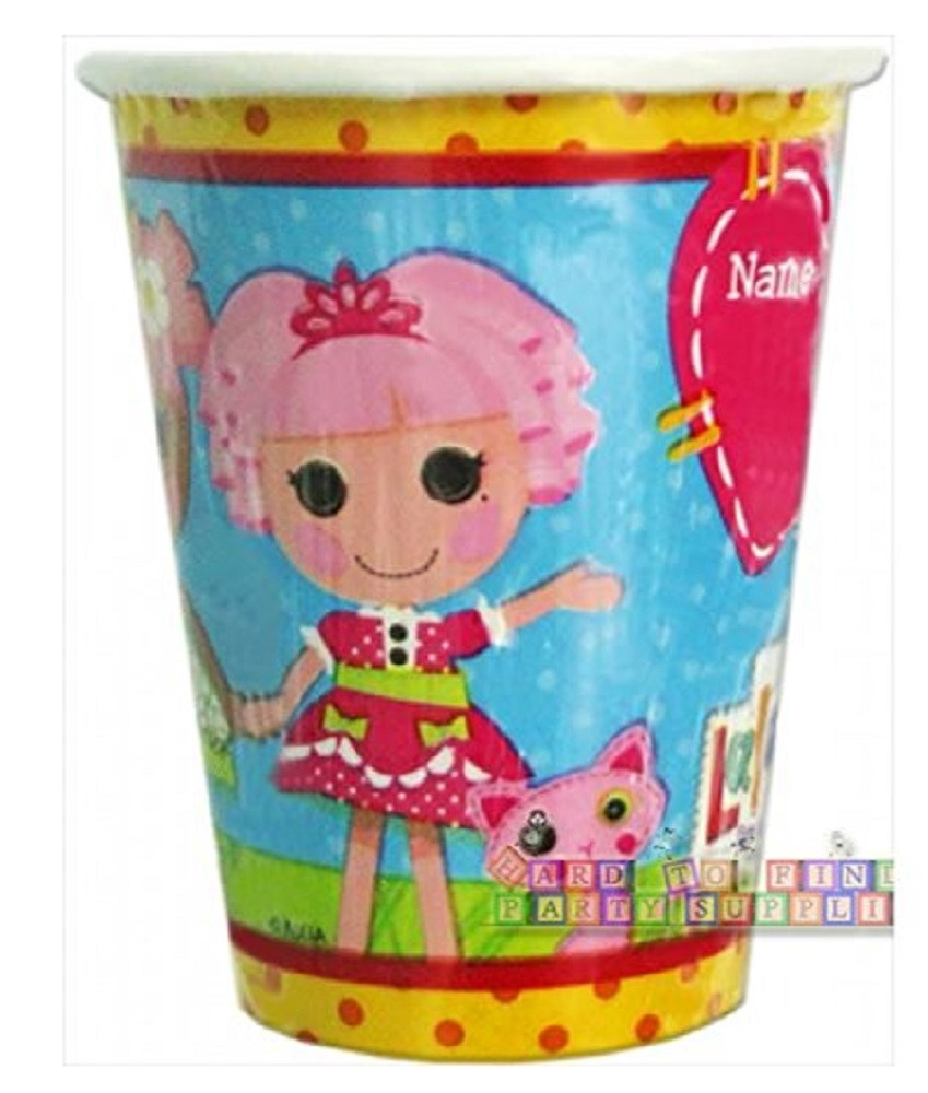 Cups - Lalaloopsy - 9oz Paper - 8ct