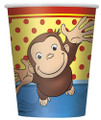 Cups - Curious George - 9oz Paper - 8ct
