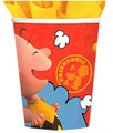 Cups - Peanuts - 9oz Paper - 8ct