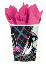 Cups - Monster High - 9oz Paper - 8ct
