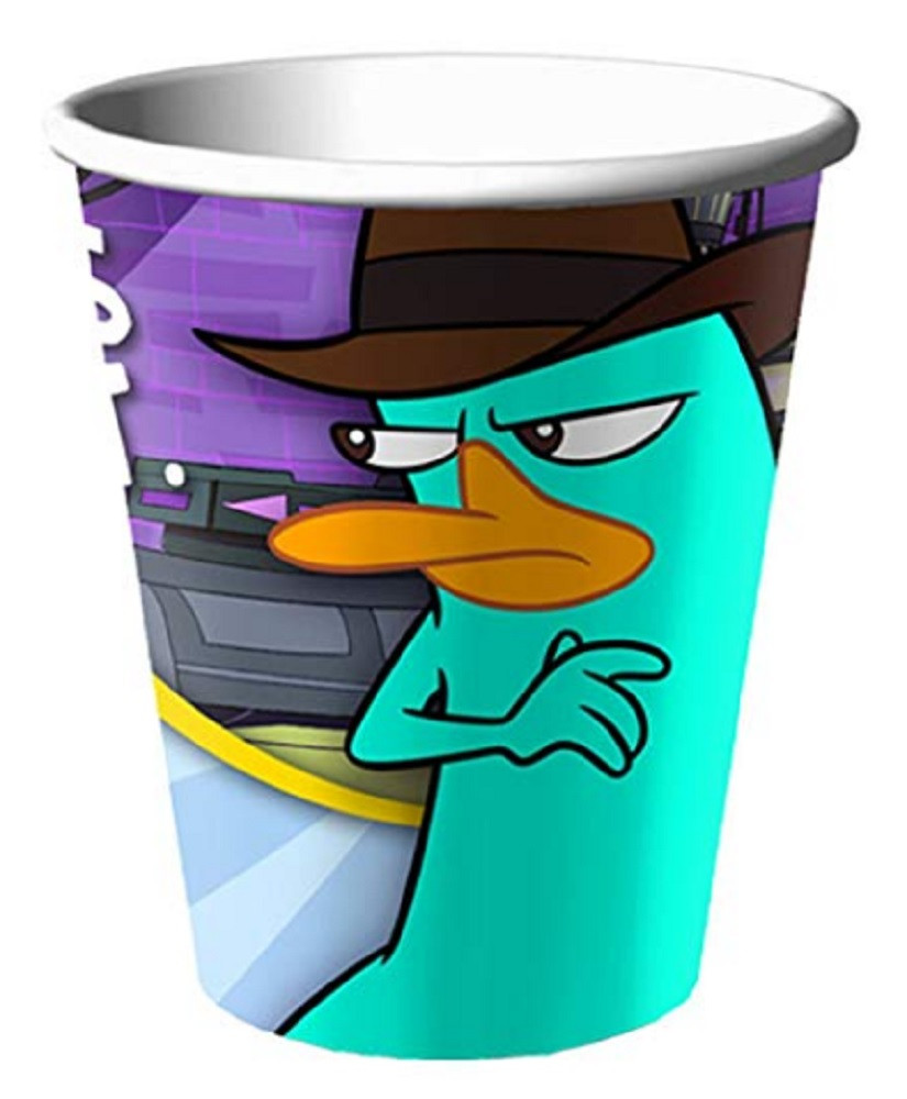 Cups - Phineas and Ferb - 9oz Paper - 8ct
