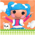 Napkins - Lalaloopsy - Small - Paper - 2Ply - 16ct - 10 X 10 in
