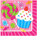 Napkins - Sweet Shop - Small - Paper - 2Ply - 16ct - 10 X 10 in