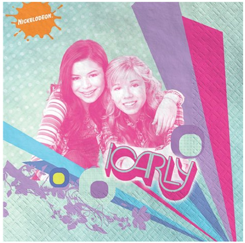Napkins - iCarly - Small - Paper - 2Ply - 16ct - 10 X 10 in