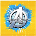 Napkins - Avengers - Small - Paper - 2Ply - 16ct - 10 X 10 in