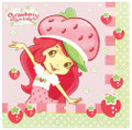 Napkins - Strawberry Shortcake - Small - Paper - 2Ply - 16ct - 10 X 10 in