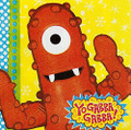 Napkins - Yo Gabba Gabba - Small - Paper - 2Ply - 16ct - 10 X 10 in
