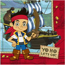 Jake and the Neverland Pirates - Large - Paper - 2Ply - 16ct - 13 X 13 in